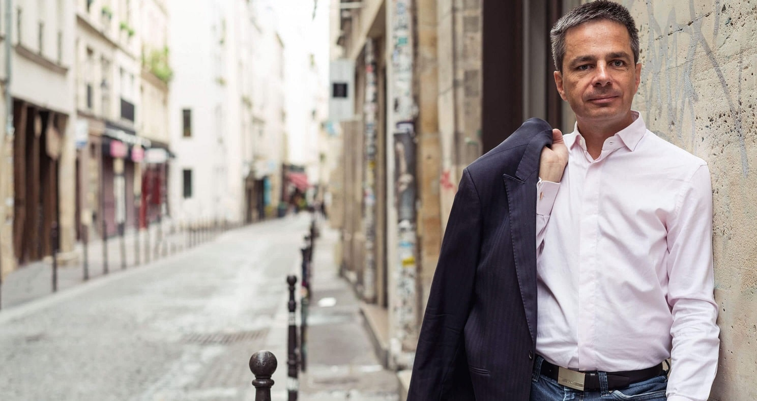 Didier ROCHE serial entrepreneur non voyant